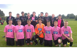 Winners - pre-season tournament at Catterick