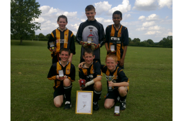 Weekley Rovers Tourne Winners 2011