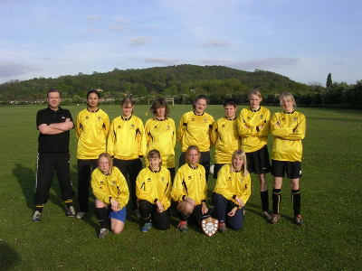 GCWFL Division 2 Winners 2004 2005