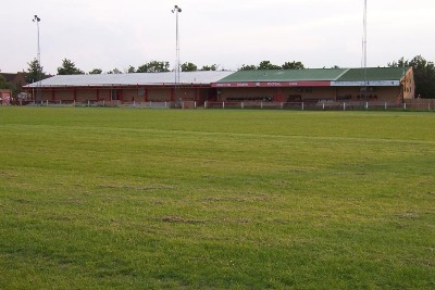 View of the whole stand from the AWTP