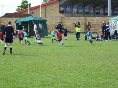 Colts in action at Hinckley Tournament - May 2007 .