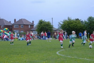 Colts v Hornets at Ibstock U6s Tournament - May 2006 .