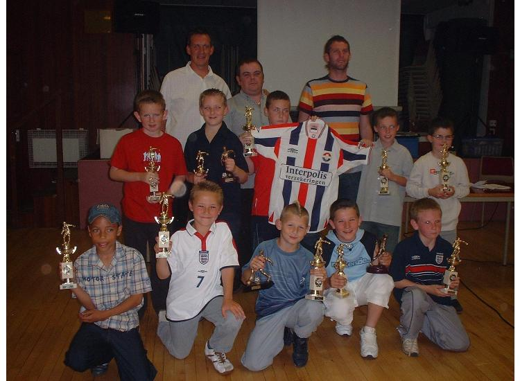 Under 10 Presentation 2003/4 with James Quinn