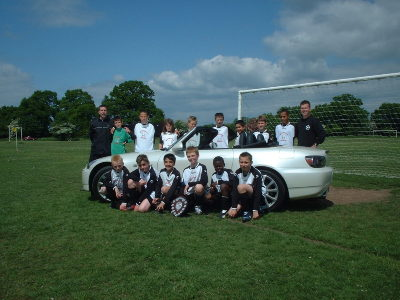 2007-08 Green League Winners- With Sponsors Car