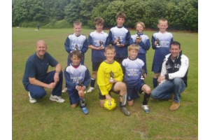 Llanybydder Tournament Runners Up June 08