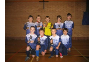 Cerddigion League 5 a side Winners  Christmas  07