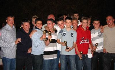 Bayside 92's with their trophies