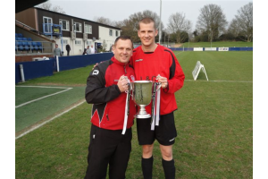 Dean Townend - Manager &amp; Chris Ingham - Captain 
