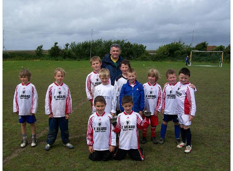 Under 8's B Team on the day