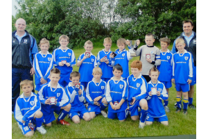 U10 winners of the 2006 TJFA Challenge Cup