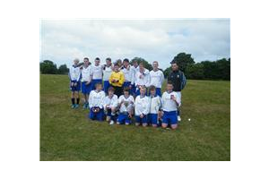 U15&amp;#39;s winners of 2011/12 South Park Rangers Tournament