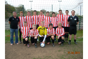 2010/11 Champions Avon Youth League U15