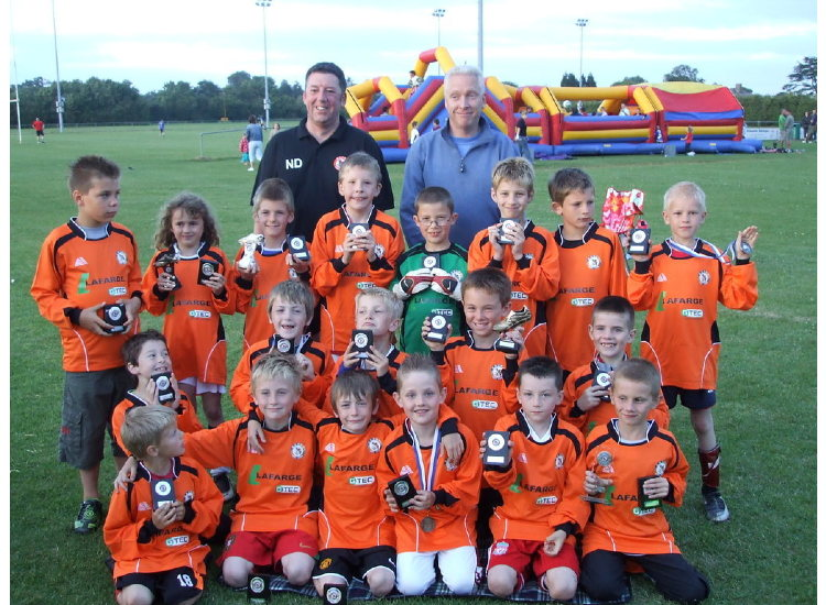 BSYFC U9's at the 10 year Anniversary Festival