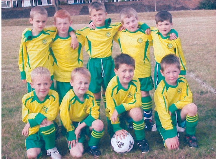 2003/04 Season as U7