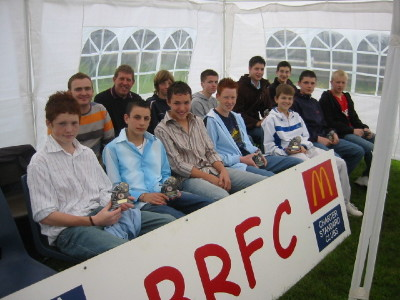 U15&amp;#39;s 2006 Award Day