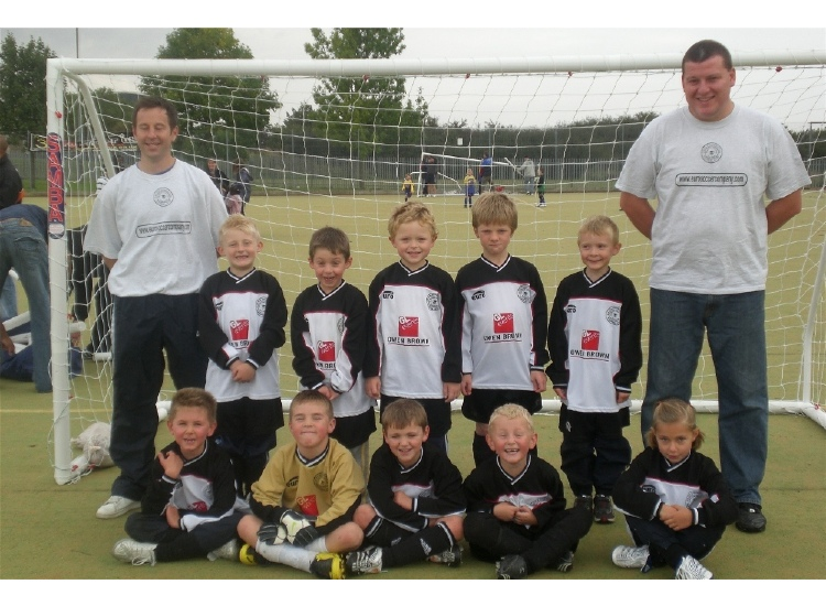 The U7 team squad 2008/9