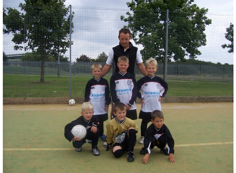 The U7 team squad 2007/08