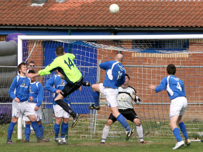 Action from game against Barry Town 28/4/2007