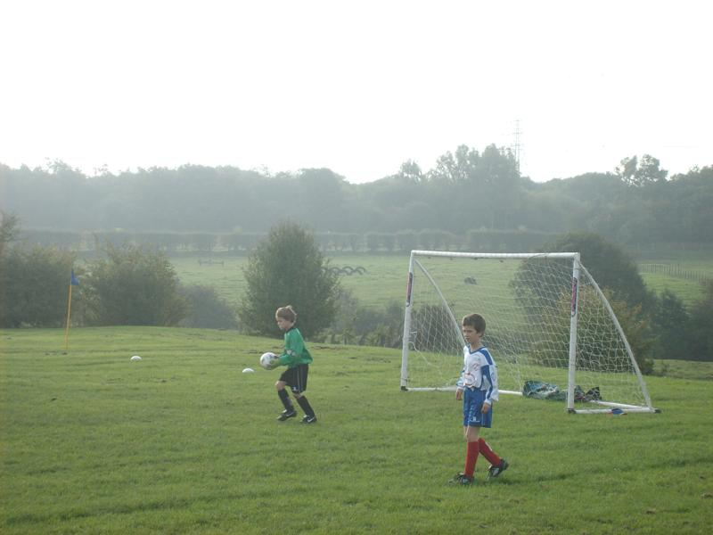 Matthew with another clearance. Ben stands guard