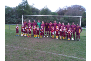 Team photo for 2nds &U8's - 1