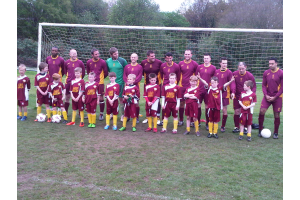 Team photo for 2nds &U8's - 2