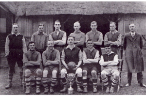 1st XI 1925/26 - AFA Senior Cup &amp; AFA Surrey Senior Cup Runners Up