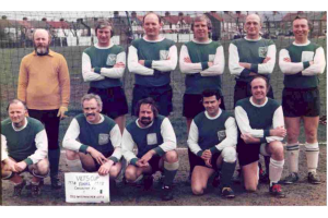 Vets XI 1977-78 - AFA Veterans Cup Finalists