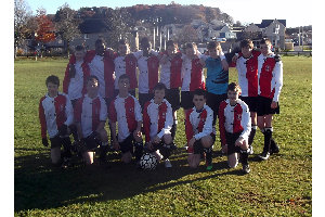 The squad at Kintore 7 November 2010