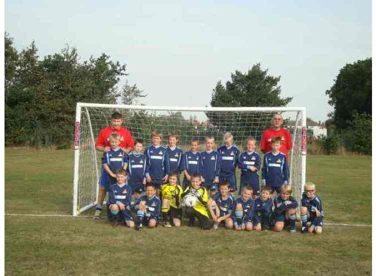 Chantry Grasshoppers U10s 2009/2010