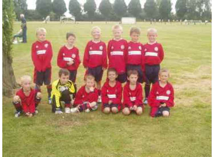 Chantry Grasshoppers U8s 2007/2008 1st Games EVER