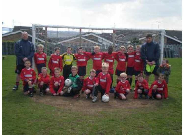Chantry Grasshoppers U8s 2007/2008