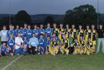 Under 18s V Old Boys - September 2007