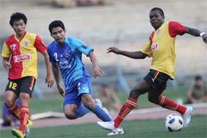 2/3/11 AFC Cup Group H East Bengal 4-4 Chonburi