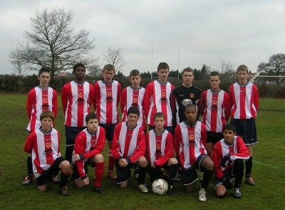 under 15&#039;s 2005/06