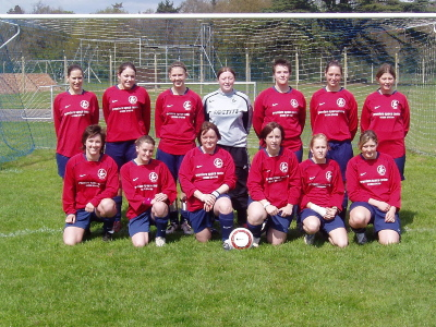 Team line up v Concord Rangers at home (April 2006)
