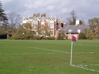 University ground, looking towards the Conference Centre