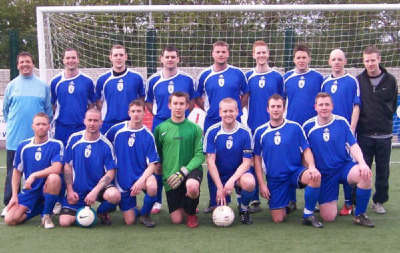 Cup Final team 2007/2008 prior to  kick off