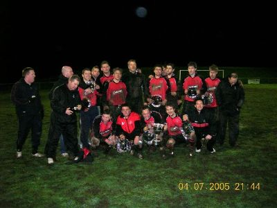 Derbyshire Cup Winners - 2005