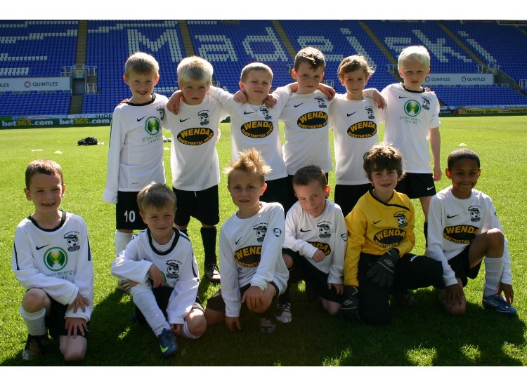 Playing at the Madejski Stadium