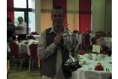 The Gaffer with the League Cup ....Again. think he slept with it that night