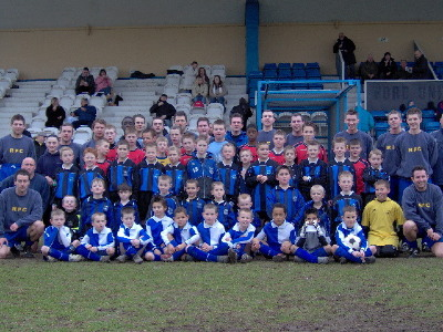 A team photo with all those who took part
