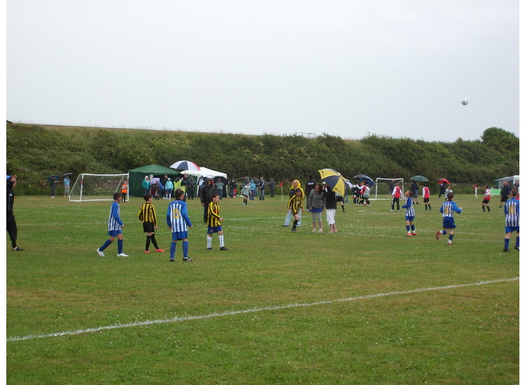 Under 11's B In action Sat 4Th July