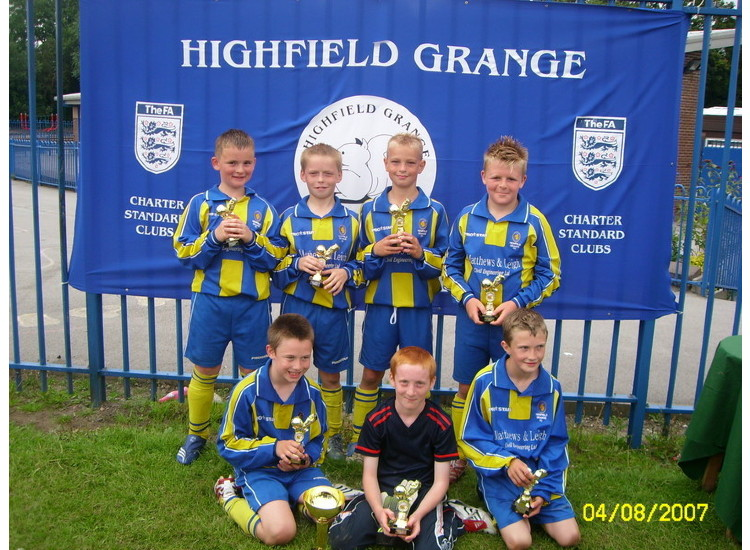 1st Annual Highfield Grange Comp Winners 2007