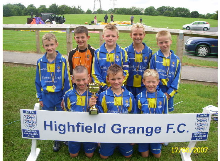 U10's Macclesfield Tournament Winners