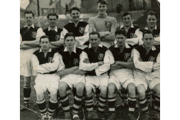 The 1950-1951 Boldmere St Michael's team.