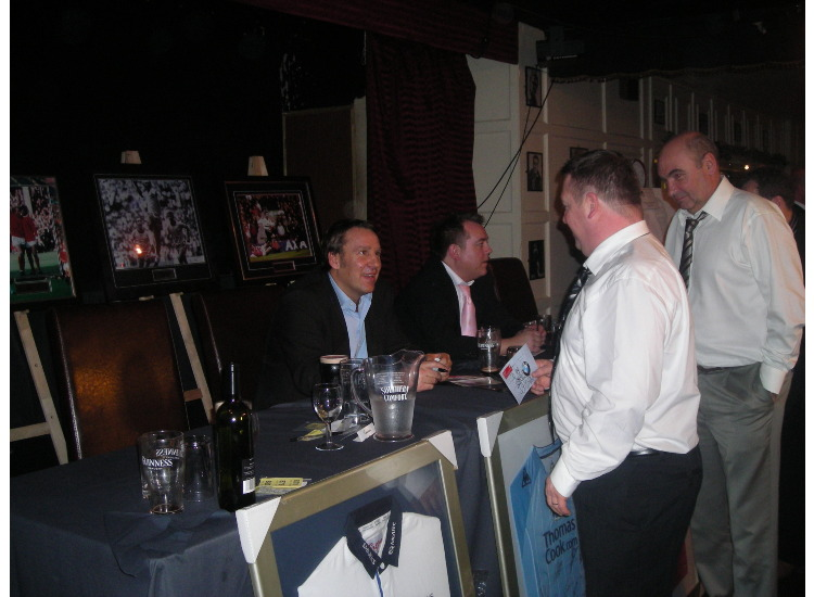 Merson Signing More Autographs