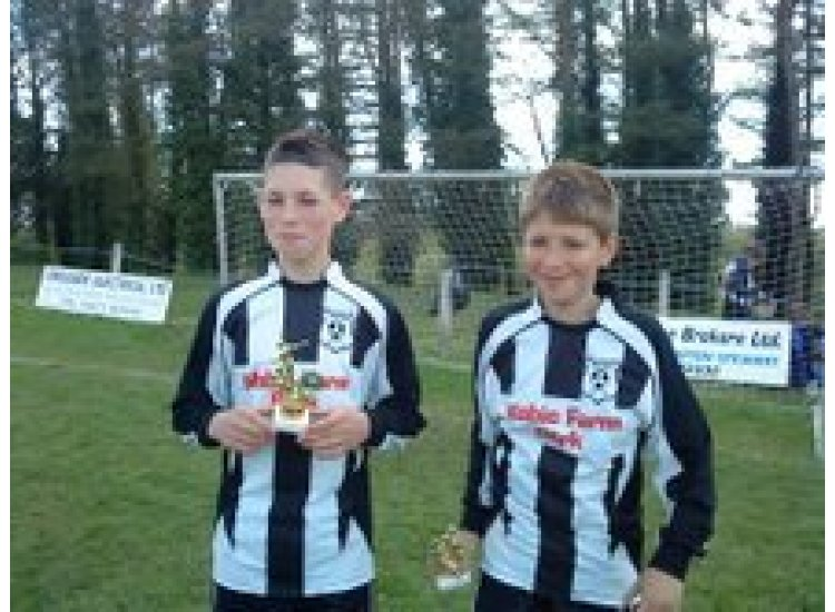 Callum and Jake collecting awards. If you have any other pictures please forward them to me and i'll post them.