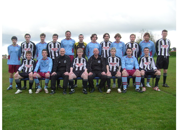 Squad photo 2008-09 debut season