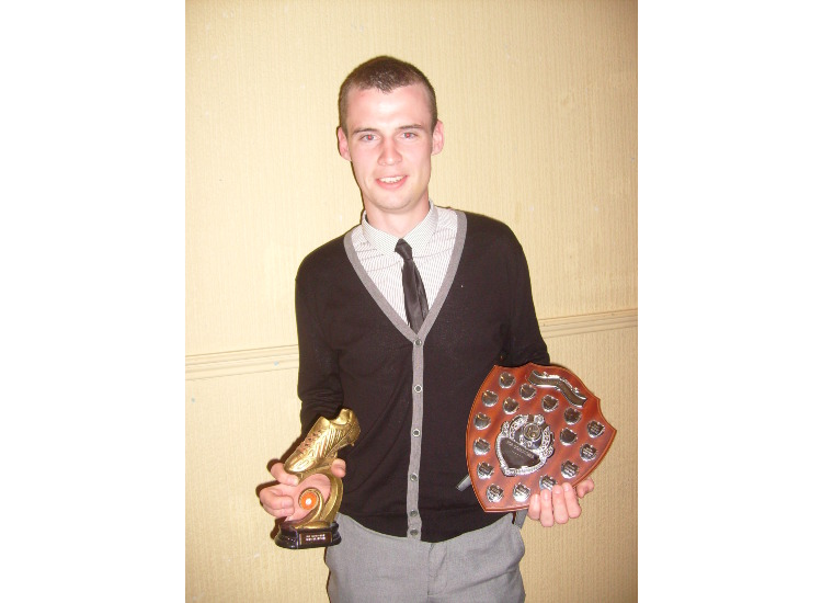 Gordon Gibson - top goalscorer 08-09