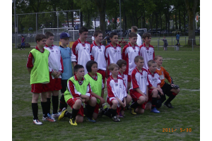 Team before game against Zwaluwen Utrecht